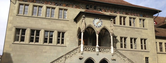 Rathaus is one of Tempat yang Disukai Anaid.