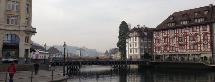 Reussbrücke is one of Lugares donde estuve en el exterior.