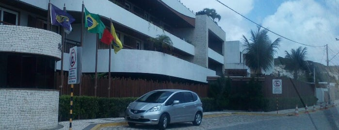 Pontalmar Praia Hotel is one of Mustafaさんの保存済みスポット.