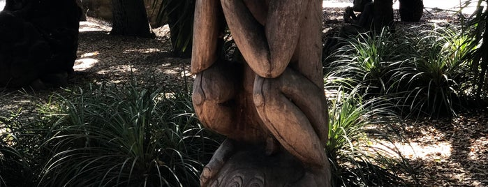 New Guinea Sculpture Garden is one of California.
