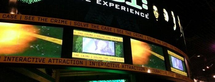 CSI: The Experience is one of Las Vegas.
