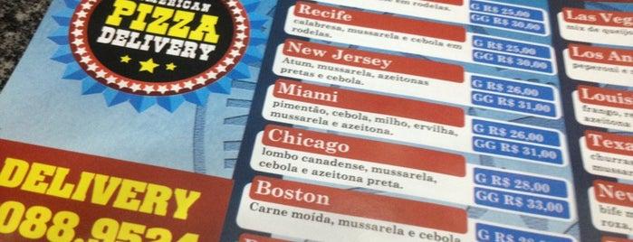 American Pizza Delivery is one of Posti che sono piaciuti a Rafael.