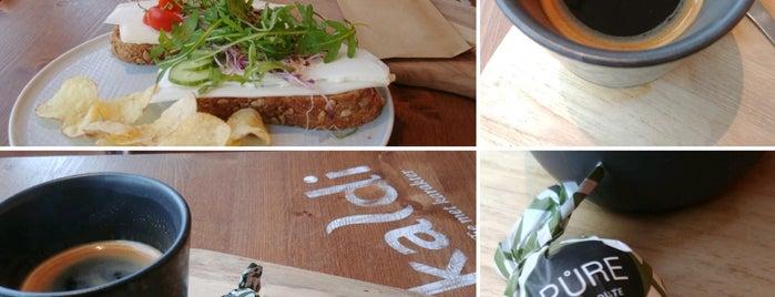 Kaldi koffie & thee Alkmaar is one of Posti che sono piaciuti a Hayo.