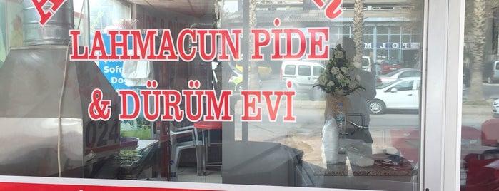 Antep Çıtır Lahmacun,Kebap Ve Dürüm Evi is one of Haydar : понравившиеся места.
