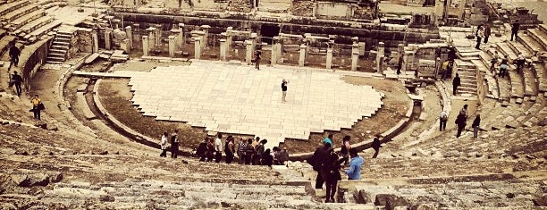Great Theater of Ephesus is one of Turkey Travel Guide.