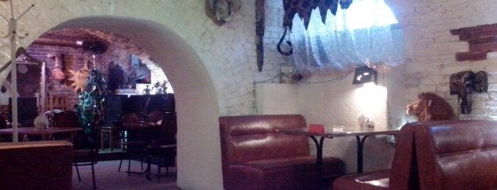 Арт-кафе Африка is one of Культурно отдохнуть в культурной столице.