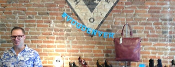 John Fluevog Shoes is one of Denver Eats & Sights.