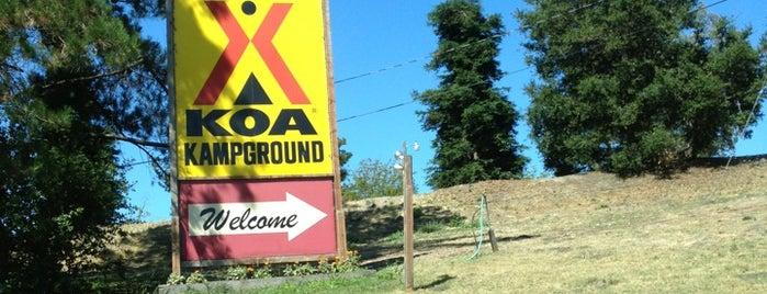 San Francisco North / Petaluma KOA is one of Past Camping.