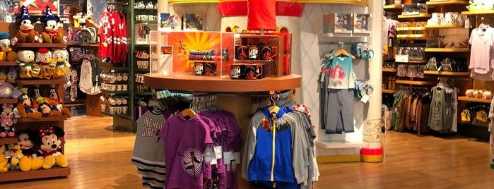 Disney store is one of Orte, die Les gefallen.