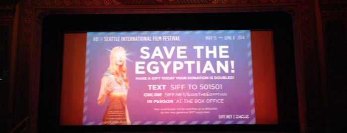 Egyptian Theatre is one of Seattle.