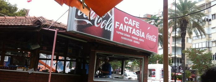 Cafe Fantasia is one of Yerler - Antalya.