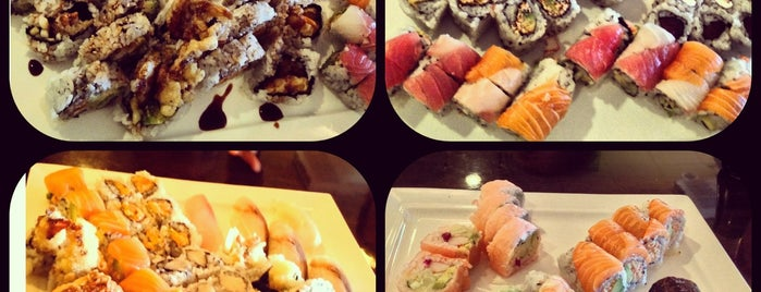 Sushi Palace is one of Lugares guardados de Lizzie.