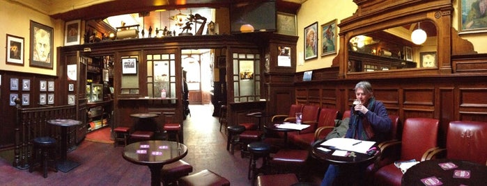 The Palace Bar is one of Dublin Literary Pub Crawl.