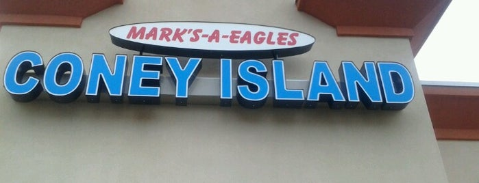 A Eagle's Coney Island is one of Coney Island Hot Dog Joints.