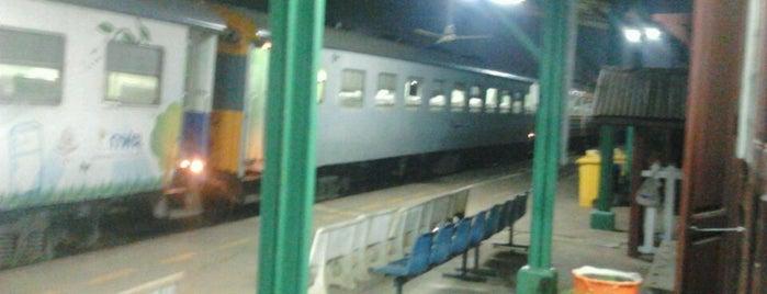 สถานีรถไฟกบินทร์บุรี (Kabin Buri) SRT3074 is one of สถานที่ที่ nagojora ถูกใจ.