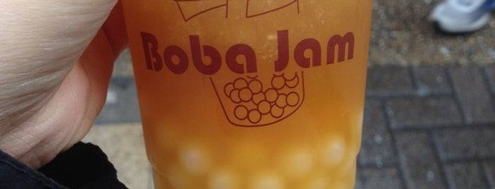 Boba Jam is one of London Food.