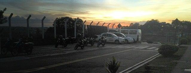 Universidade Federal De Alfenas - Campus Varginha is one of Tempat yang Disukai Jeferson.