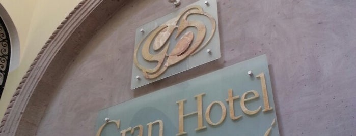 Gran Hotel de Querétaro is one of Tempat yang Disukai Javier.