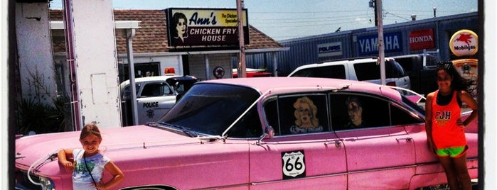 Ann's Chicken Fry House is one of Route 66 Roadtrip.