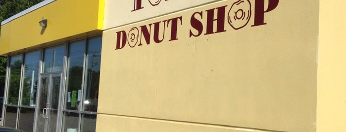 Tony's Donut Shop is one of Portland Maine doughnuts.