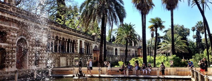 Real Alcázar de Sevilla is one of Seville, Spain.
