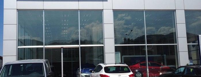 Kamer Otomotiv Hyundai is one of Lieux qui ont plu à Ersin.