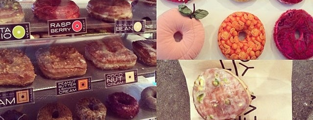 Doughnut Plant is one of Dessert-To-Do List.