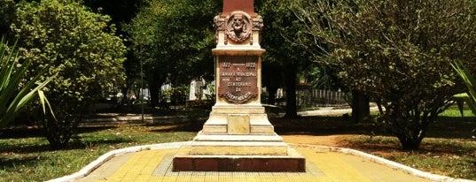 Praça Doutor Barbosa de Oliveira is one of Taubaté, SP, Brasil.