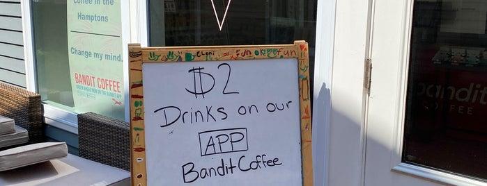 Bandit Coffee & Matcha is one of Southampton, NY.