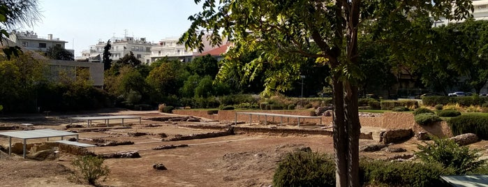 The Archaeological Site of Lykeion is one of Athens, Greece.