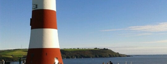 Plymouth Hoe is one of Daddy's in England.