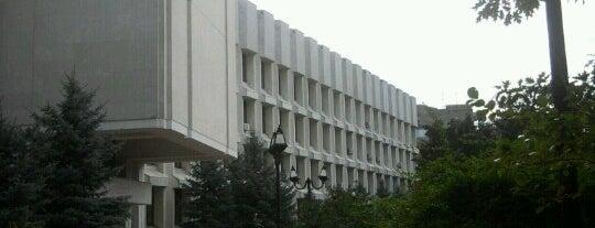 Інститут міжнародних відносин / Institute of International Relations is one of Самые посещаемые точки Киева.