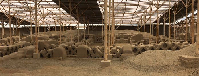 Chan Chan Archaeological Site is one of UNESCO World Heritage Sites in South America.