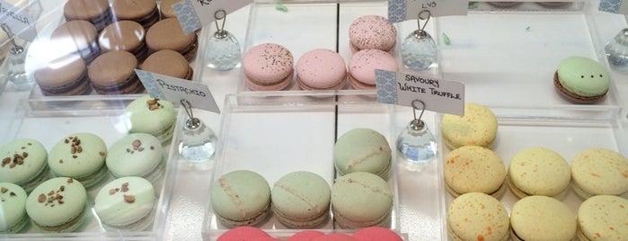 Soirette Macarons & Tea is one of I Love Macarons.