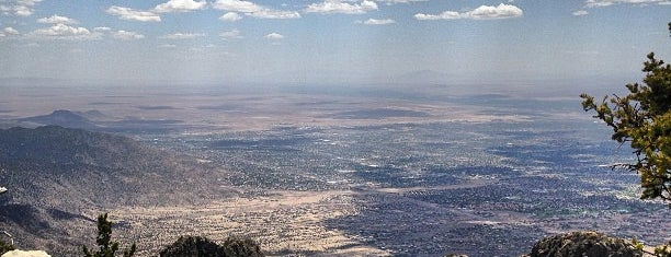Sandia Crest is one of New Mexico.