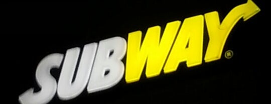 Subway is one of Curitiba.