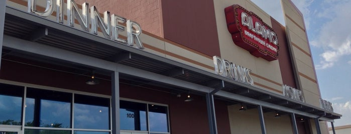 Alamo Drafthouse Cinema is one of Hungry in the DTX (Dallas, Tx area).