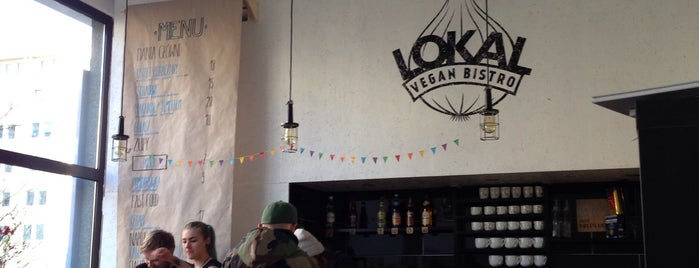 Lokal Vegan Bistro is one of Hipster Places in Warsaw.