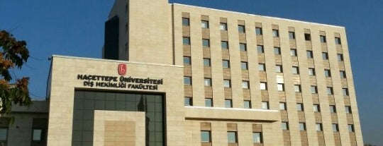 Hacettepe Üniversitesi Diş Hekimliği Fakültesi is one of Yunus : понравившиеся места.