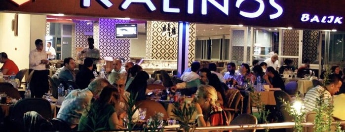 Kalinos Balik Restaurant is one of Locais curtidos por Celâl.