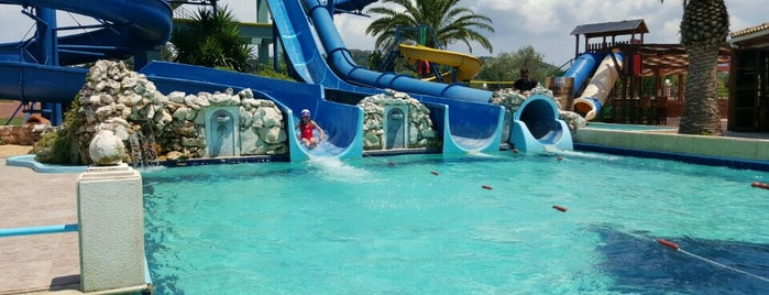 Sidari Water Park is one of Corfu, Greece.