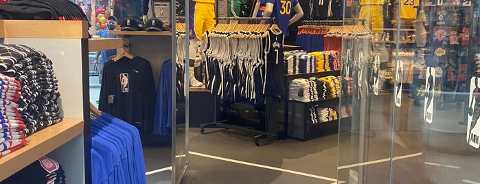 NBA Store is one of NYC 2016.