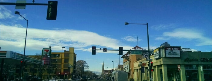 Colfax Ave. is one of Denver.