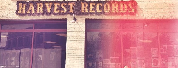 Harvest Records is one of Asheville.