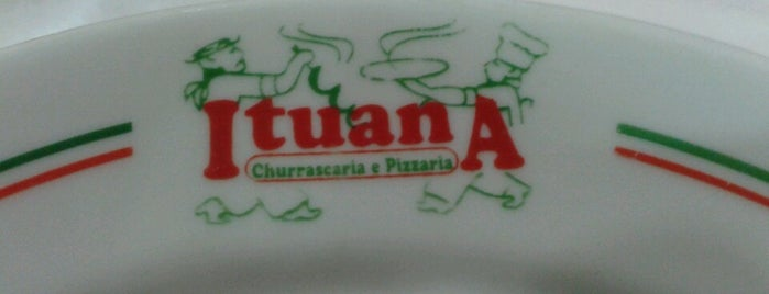 Ituana - Churrascaria e Pizzaria is one of Locais curtidos por Lício.