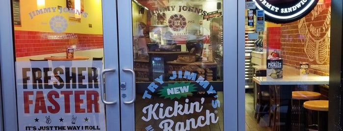 Jimmy John's is one of สถานที่ที่ Senator ถูกใจ.
