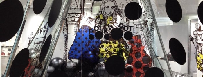 COMME des GARÇONS is one of Worldwide: Best Design & Concept-Stores!.