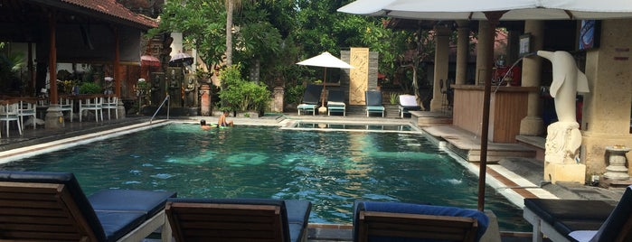 Legian Village Hotel Bali is one of Orte, die Susan gefallen.