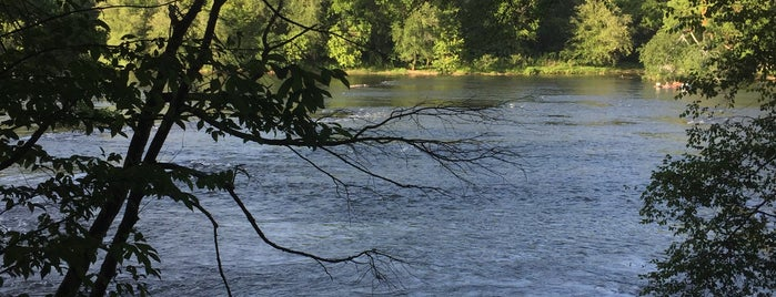 Powers Island Park - Chattahoochee River is one of 7 of Atlanta's best running trails.
