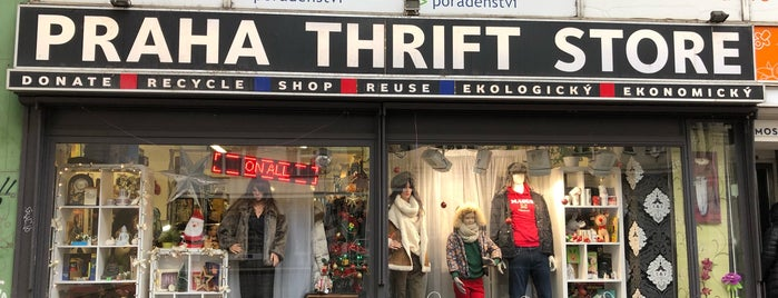 Prague Thrift Store is one of Prague Thrift Stores.